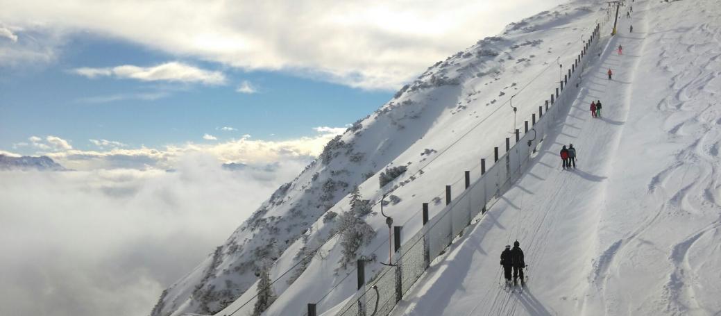 Skiexkursion am AVG